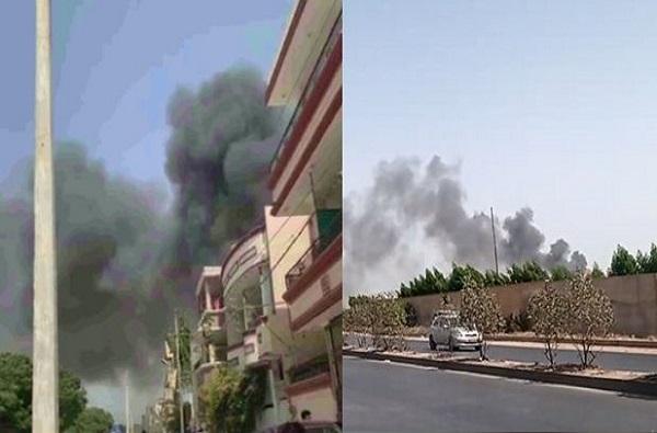 Karachi plane crash | पाकिस्तानात 100 प्रवाशांसह विमान इमारतीवर कोसळलं