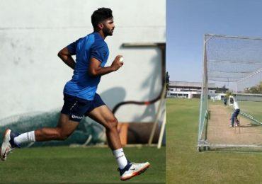 मैदानावर उतरणारा टीम इंडियाचा पहिला खेळाडू, पालघरच्या पठ्ठ्याचा सराव सुरु