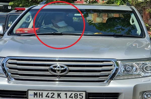 Ajit Pawar Drive The Car