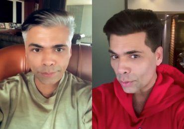 पांढऱ्या केसांमुळे करण जोहरची थट्टा, वाढदिनी नवा लूक प्रेक्षकांसमोर