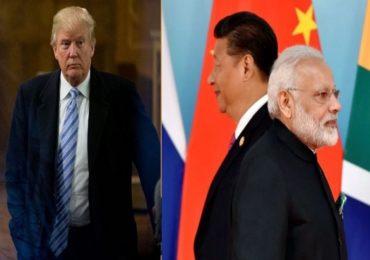 डोनाल्ड ट्रम्प भारत-चीन सीमावादात मध्यस्थीसाठी इच्छुक
