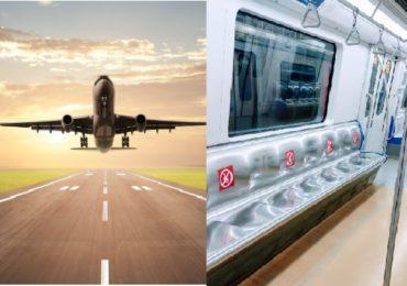 आंतरराष्ट्रीय प्रवासी विमान उड्डाणांवरील स्थगिती कायम, मुंबई मेट्रोही बंदच