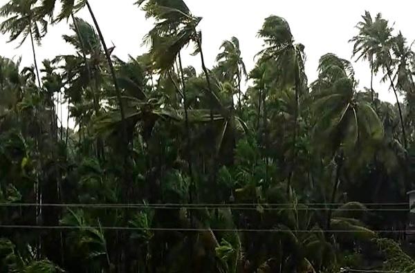 Cyclone Nisarga | नाशिकच्या सप्तशृंगी गडावरील घाट रस्त्यात दरड कोसळली