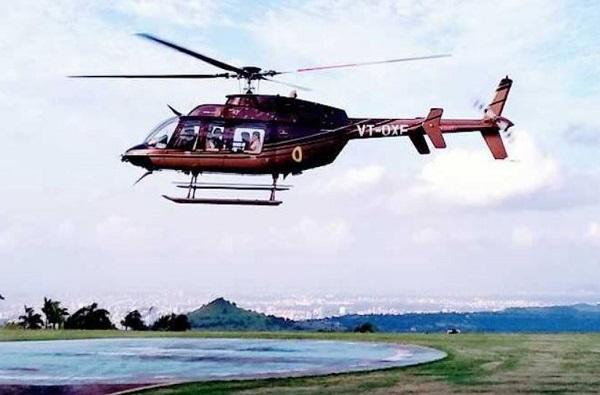 पुण्यात खासगी हेलिकॉप्टर सेवा सुरु, एकावेळी 6 प्रवासी, ताशी 85 हजार दर
