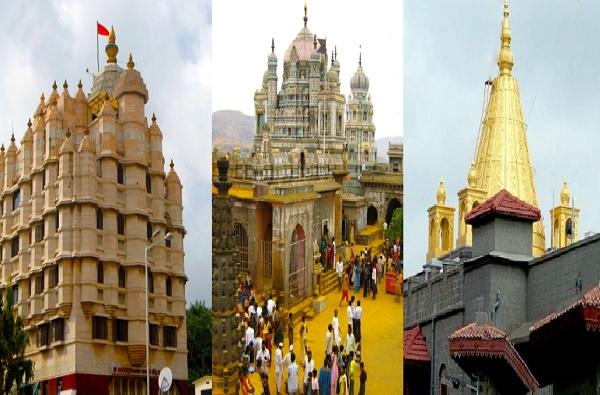 Temple Reopen| कुठे अलोट गर्दी, तर कुठे सोशल डिस्टन्सिंगचा फज्जा, नियम धाब्यावर बसवत भाविक दर्शनासाठी मंदिरात