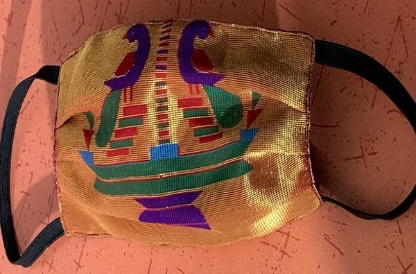 Paithani Mask | कोरोनापासून बचावासाठी मुंबईकरांची खास 'पैठणी मास्क'ला पसंती
