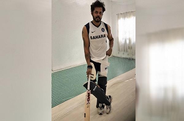 मी कुठेही क्रिकेट खेळण्यास तयार, मला बोलवा : एस श्रीसंत