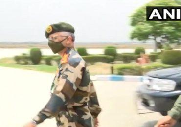 लष्कर प्रमुख जनरल मनोज मुकुंद नरवणे लडाखला, भारत-चीनमध्ये तणावाच्या पार्श्वभूमीवर दौरा