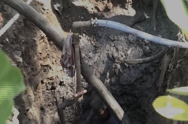 Hindustan Petroleum | भिंतीत बोगदा खणून पाईपलाईन, 'एचपी' कंपनीतून हजारो लिटर डिझेल चोरी, चेंबूरमध्ये पर्दाफाश