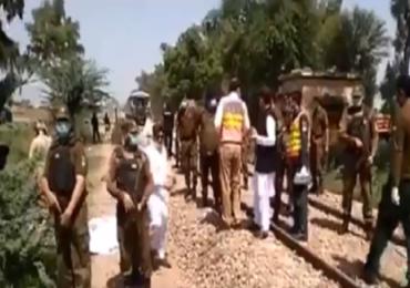 Pakistan Train Accident | पाकमध्ये ट्रेन आणि मिनी बसमध्ये जोरदार धडक, 19 शीख भाविकांचा मृत्यू