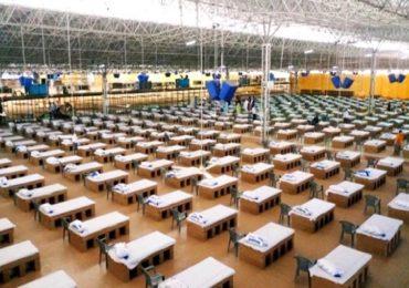 20 फूटबॉल मैदानांइतके विस्तीर्ण, 10 हजार बेड क्षमता, जगातील सर्वात मोठं कोविड सेंटर दिल्लीत