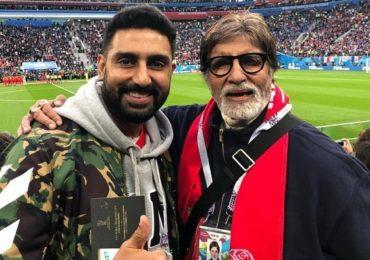 Abhishek Bachchan   'वडिलांनी माझ्यासाठी नाही, मी त्यांच्यासाठी चित्रपट बनवला', नेपोटिझमच्या प्रश्नावर अभिषेकचे सणसणीत उत्तर!