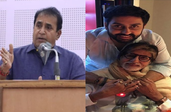 """Amitabh Bachchan Corona : """"शहंशाह"""" कोरोनाची """"दिवार"""" तोडून """"अग्निपथावर"""" मात करतील, गृहमंत्र्यांसह राजकीय वर्तुळातून अनेकांच्या प्रतिक्रिया"""