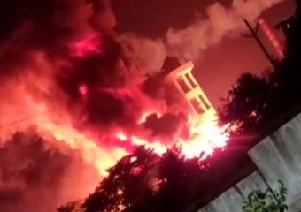 विशाखापट्टनममधील केमिकल कंपनीत भीषण आग, अनेकजण जखमी