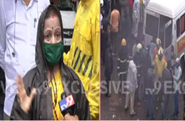Bhanushali Building collapse | दुर्लक्ष नाही, पण आम्ही लोकांना घरातून खेचून बाहेर काढू शकत नाही : महापौर