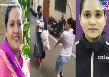 Yashomati Thakur | सलोनी, 'जिंकलंस लेकी', मंत्री यशोमती ठाकूर यांचा फोन, बिनधास्त सलोनी भारावली
