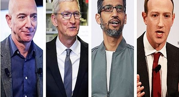 Apple, Amazon, Facebook, Google च्या प्रमुखांवर गंभीर आरोप, अमेरिकेच्या संसदेत सर्वांची झाडाझडती