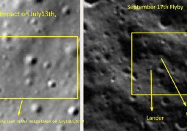चंद्रयान 2 मधील दोन्ही रोव्हरचा शोध लागला, एकाने जागा बदलली, NASA चे फोटो ट्विट करत तंत्रज्ञाचा दावा
