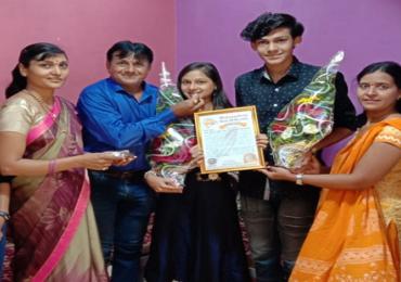नाशिकमधील जुळ्या बहीण भावाला दहावीत समान टक्के, महाराष्ट्र बुक ऑफ रेकॉर्डमध्ये नाव नोंद