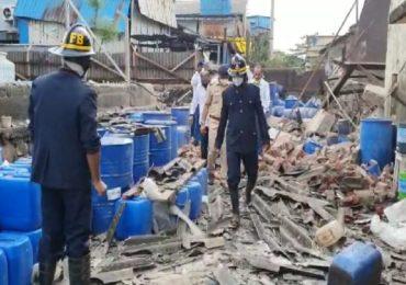 Chemical Company Blast | रासायनिक कंपनीत भीषण स्फोट, डोंबिवली हादरली, रक्षाबंधनामुळे मोठी दुर्घटना टळली