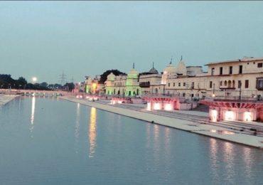 Ayodhya Ram Mandir | अयोध्यानगरी सजली, राम मंदिर भूमिपूजन सोहळ्याची जय्यत तयारी