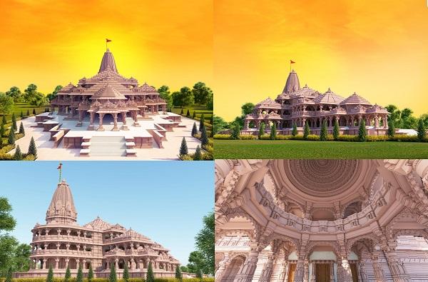 Ayodhya Ram Mandir PHOTO | अयोध्या नगरीतील प्रस्तावित राम मंदिराचे काही फोटो