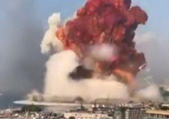 Beirut Blast Video | लेबनानची राजधानी बेरुतमध्ये 15 मिनिटात दोन महाभयंकर स्फोट, हजारो जखमी