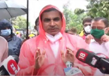 मुंबईतील पाऊस आणि वारं याला चक्रीवादळच म्हणावे लागेल : आयुक्त इक्बाल चहल