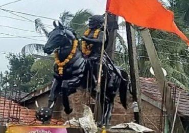 Shivaji Maharaj Statue | बेळगावातील शिवरायांचा पुतळा आठ दिवसात बसवणार, कर्नाटक सरकारचं आश्वासन