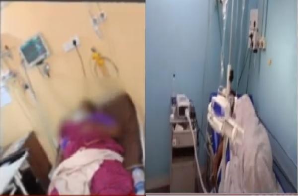 ऑक्सिजन लावण्यास सांगितल्याने आरोग्य सेवकाची मारहाण, लातूरमध्ये कोरोनाग्रस्त महिलेची तक्रार