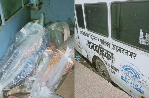अहमदनगरमध्ये एकावर एक रचलेले 12 कोरोना रुग्णांचे मृतदेह, शिवसेना नगरसेवकाकडून व्हिडीओ जारी