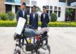 पेट्रोल आणि एलपीजी गॅसवर चालणारी अनोखी दुचाकी, मालेगावच्या अभियांत्रिकी विद्यार्थ्यांचा अनोखा प्रयोग