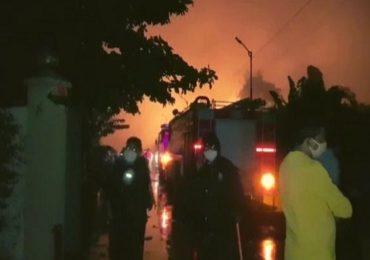 Tarapur MIDC Blast | तारापूर एमआयडीसीत भीषण स्फोट, दोघांचा मृत्यू, चार गंभीर