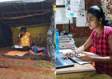TV9 इम्पॅक्ट : भारत सरकारचं नेटवर्क स्वप्नालीला मिळालं; जंगलातल्या झोपडीतील अभ्यास आता घरात