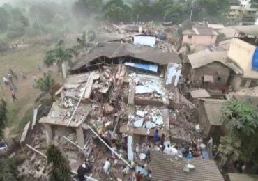 Mahad Building Collapse   महाड दुर्घटनेप्रकरणी बिल्डरसह 5 जणांवर सदोष मनुष्यवधाचा गुन्हा दाखल