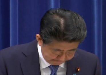 जपानचे पंतप्रधान शिंजो आबे पदावरुन पायउतार, विनम्रपणे झुकून जनतेची माफी