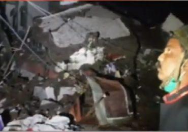 नालासोपाऱ्यात 11 वर्ष जुनी इमारत कोसळली, रहिवाशांच्या सतर्कतेमुळे जीवितहानी नाही