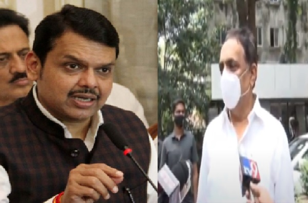 If Devendra Fadnavis speaks Mahavikas Aghadi govt will fall to secure BJP MLA from leaving the party says NCP Jayant Patil