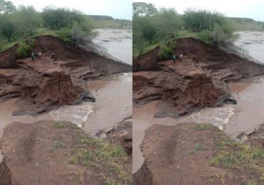 मालेगावात मुसळधार पाऊस, 25 वर्षांपूर्वीचा बंधारा फुटला, अनेक गावात पाणी शिरलं