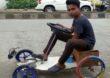 सौर ऊर्जेवर चालणारी लिटिल कार, नववीतील विद्यार्थ्याचा लॉकडाऊनमधील भन्नाट प्रयोग