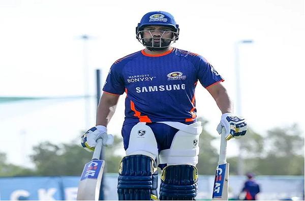 IPL 2020 : सलामीच्या सामन्यासाठी मुंबई इंडियन्स सज्ज, रोहित शर्माने उलगडलं रहस्य