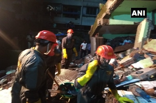 Bhiwandi building Collapse | भिवंडीत तीन मजली इमारत कोसळली, 10 जणांचा मृत्यू