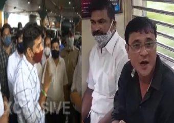 MNS Protest LIVE | पाच मिनिटं द्या, लोकल प्रवास करतो, मग गुन्हा दाखल करा : अविनाश जाधव