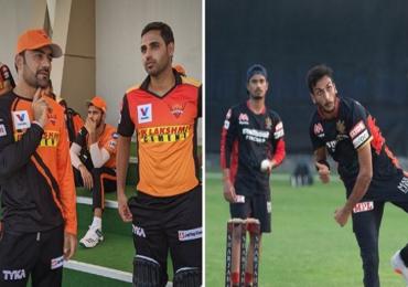 SRH vs RCB LIVE : विराट कोहलीच्या रॉयल चॅलेंजर्स बंगळुरुची सनरायजर्स हैदराबादशी टक्कर