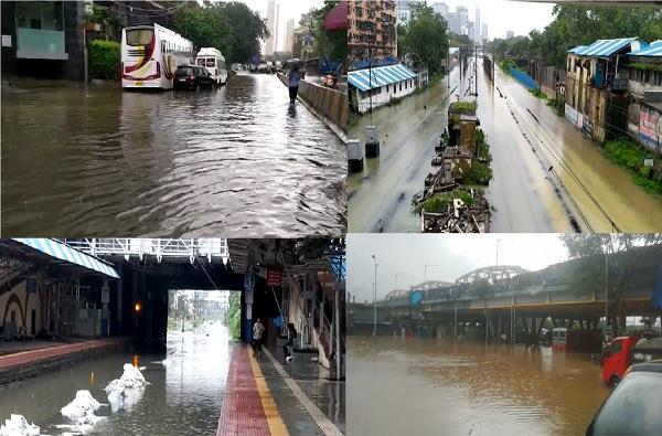 Mumbai Rains LIVE : नायर रुग्णालयात पावसाचे पाणी, अत्यावश्यक सेवा वगळता कार्यालयांना सुट्टी