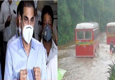 Mumbai Rains | तुफान पावसाने मुंबईची दाणादाण, मुंबईत सुट्टी जाहीर, आयुक्त इक्बाल चहल यांची घोषणा