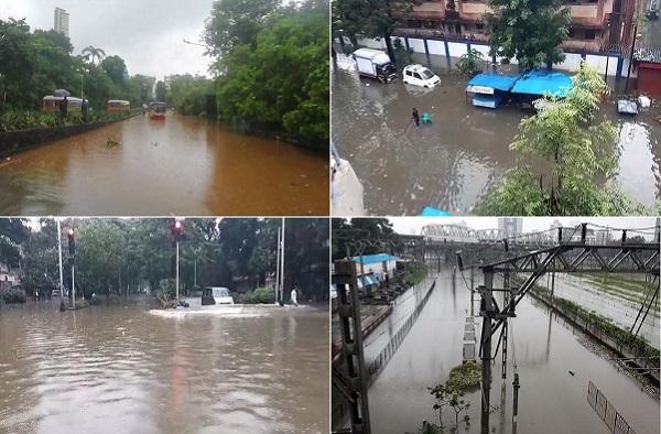 PHOTO | मुसळधार पावसाने मुंबई पुन्हा जलमय, तुंबलेल्या शहराचे 15 फोटो