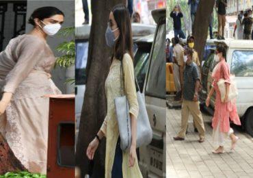 PHOTO : दीपिका पदुकोण, सारा अली खान आणि श्रद्धा कपूर NCB कार्यालयात, प्रश्नांची सरबत्ती