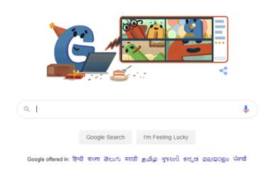 Google Birthday Doodle : गुगलचा 22 वा जन्मदिवस, जन्मदिनानिमित्त खास डुडल