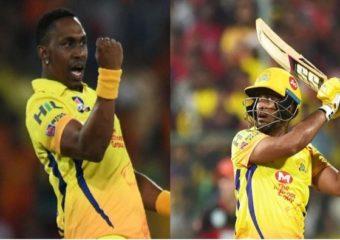 IPL 2020: चेन्नईसाठी खुशखबर…अंबाती रायडू आणि ब्राव्हो फिट, पुनरागमनासाठी सज्ज